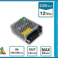 Zasilacz LED 30W DC12V IP20